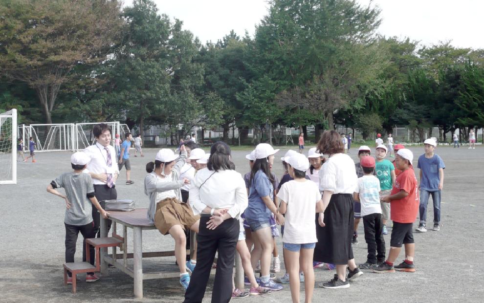 近県学校訪問神奈川県コース(座間市立東原小学校)