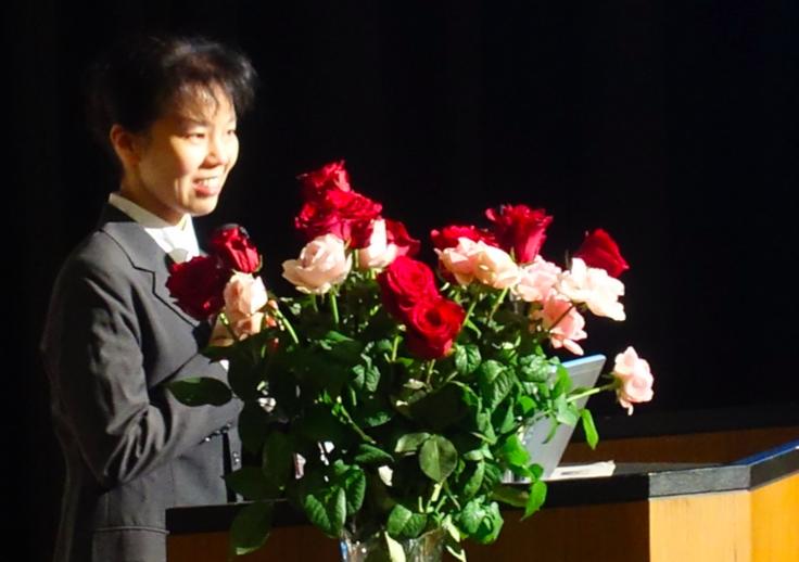 ホーム・カミングデー講演「恐竜時代の地球」佐藤たまき氏