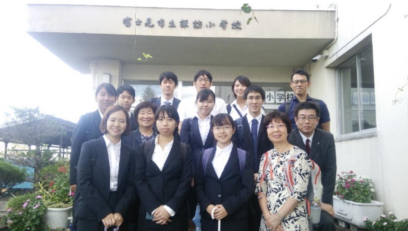 先輩たちのいる学校を訪ねよう! ―富士見市立諏訪小学校―