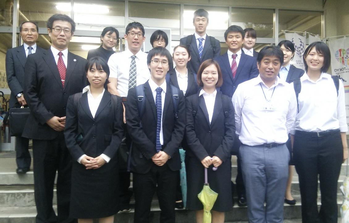 先輩たちのいる学校を訪ねよう! ―江東区立小名木川小学校―